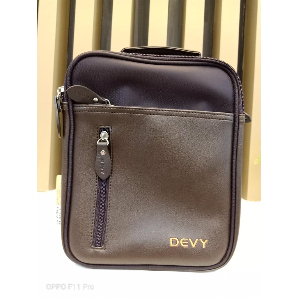 กระเป๋าสะพายข้างทรงตั้ง Devy รุ่น 2104-1