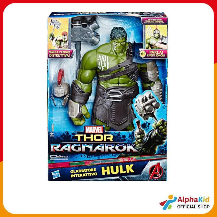 Marvel Thor Gladiator Ragnarok Hulk électronique interactif figurine