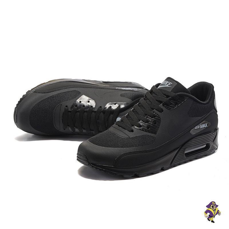 [yijiazs]รองเท้าผ้าใบผู้ชาย / ผู้หญิง ไนกี้ Nike Air Max 90 Ultra 2.0 Essential Triple Black 875695-002