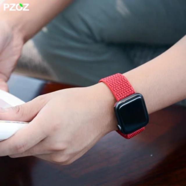 พร้อมส่งจากไทย!สายนาฬิกาข้อมือ สำหรับ AppleWatch Series 6/5/4/3/2/1 ขนาด 38/40/42/44 มม