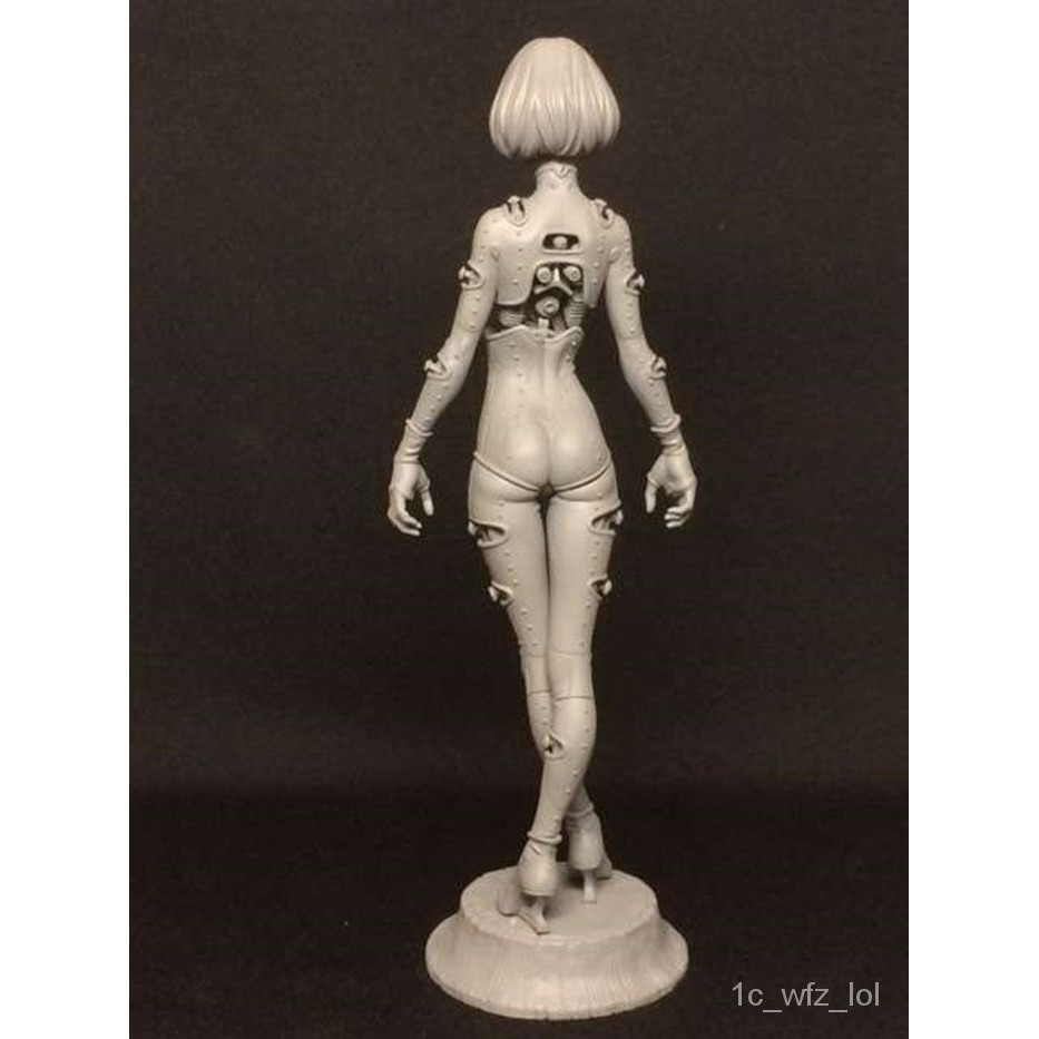 Resin Figure Kit LONGLONG SINDLE Unainted Garage Resin Model Kit#¥%¥# 43hk