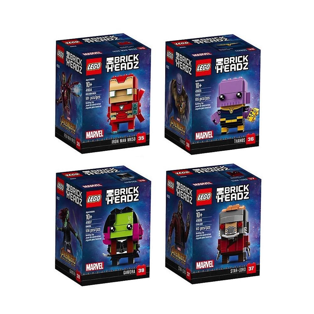 LEGO Brickheadz MARVEL Gamora 41607 LEGO