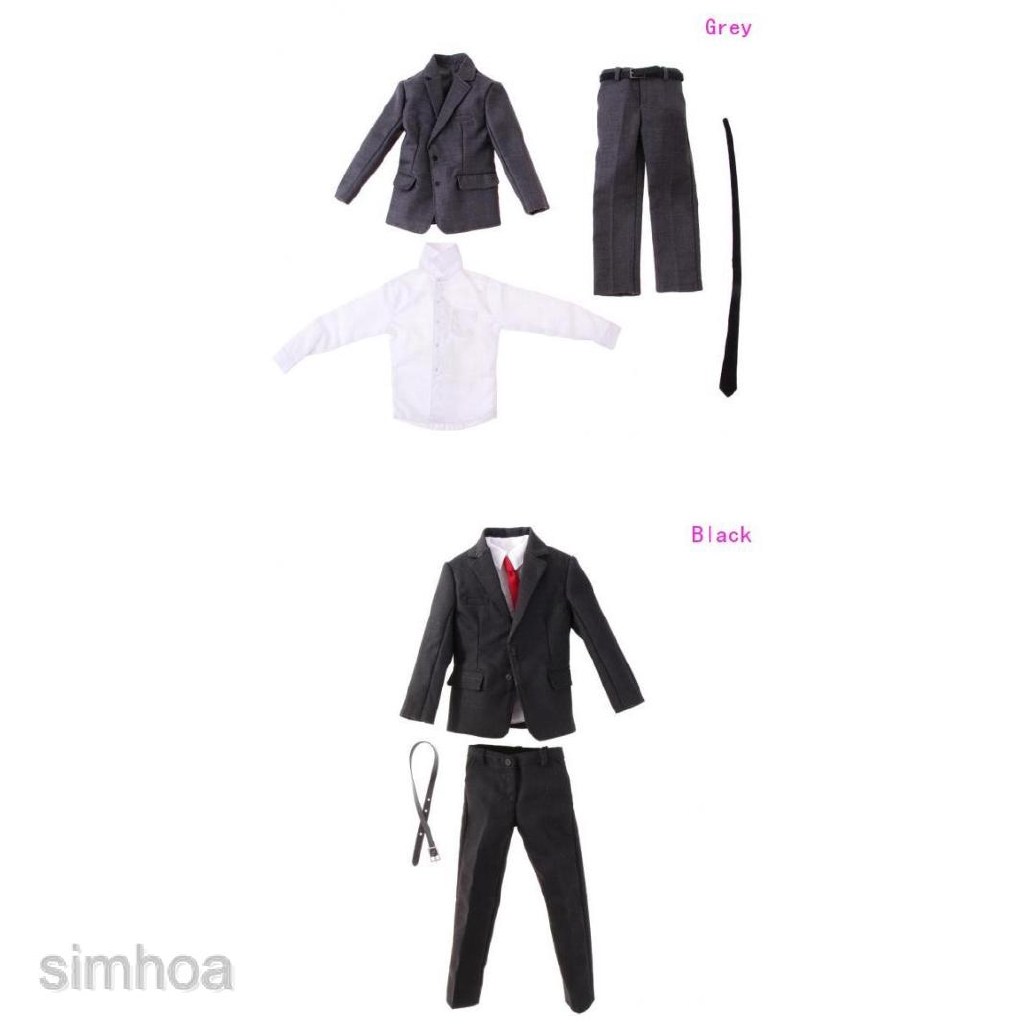 """1//6 Scale Gentleman// Woman Suit Set Outfits For 12/"""" Figure Hot Toys Sideshow NEW"""