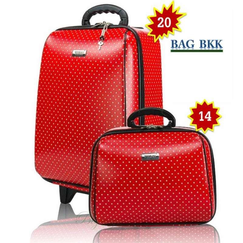 BAG BKK กระเป๋าเดินทาง Wheal ล้อลาก เซ็ทคู่ 20 นิ้ว/14 นิ้ว รุ่น F7719 -20
