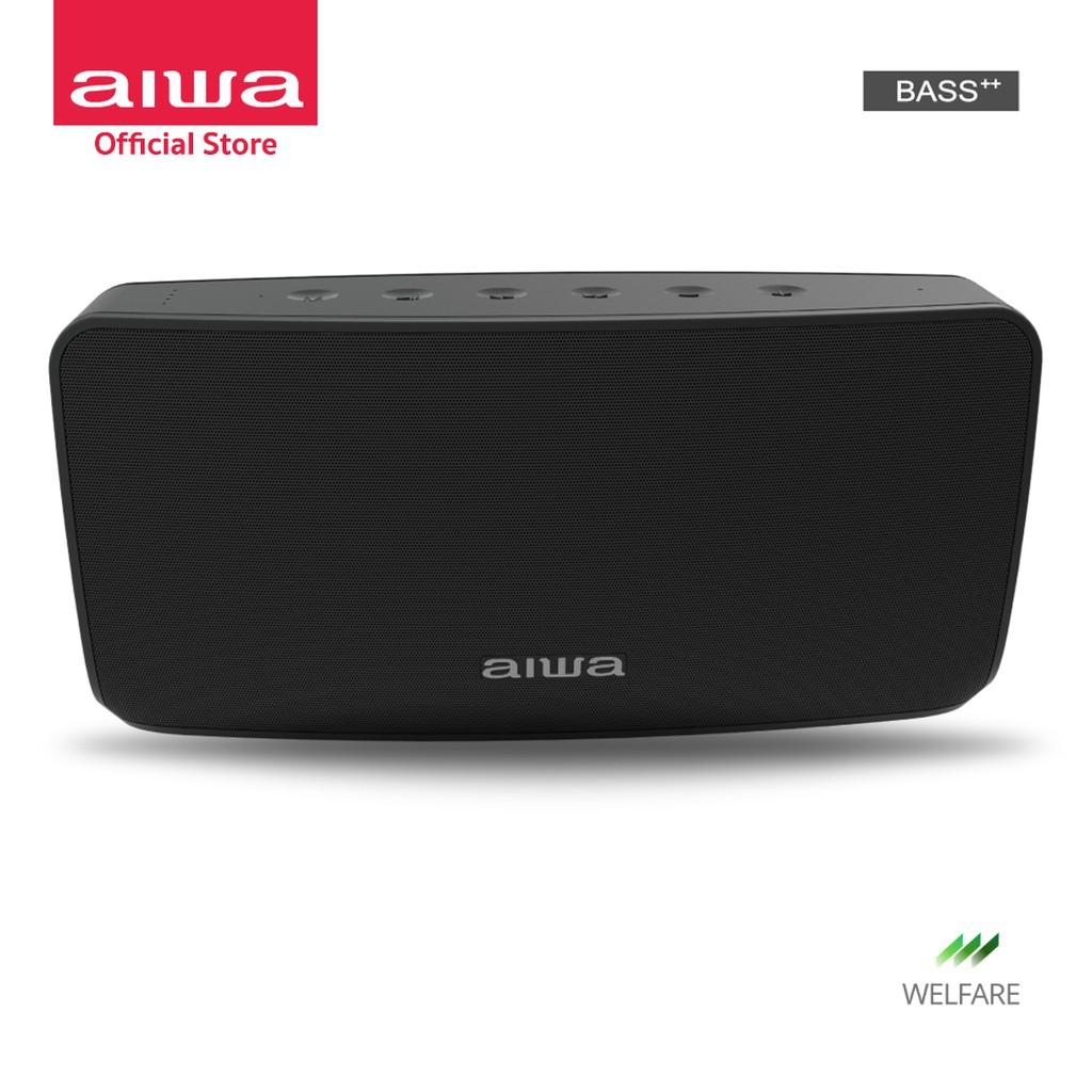 รหัส 123  เสียงดี!! AIWA SB-X120 Bluetooth Speaker ลำโพงบลูทูธ เบสชัด วัสดุพรีเมี่ยม