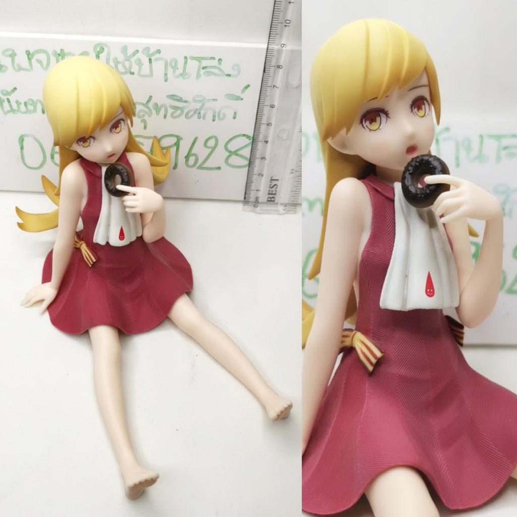 (แท้/มือสองไม่มีกล่อง) Banpresto Monogatari Series Oshino Shinobu Monogatari Series Nishiosin EXQ Sitting Figure
