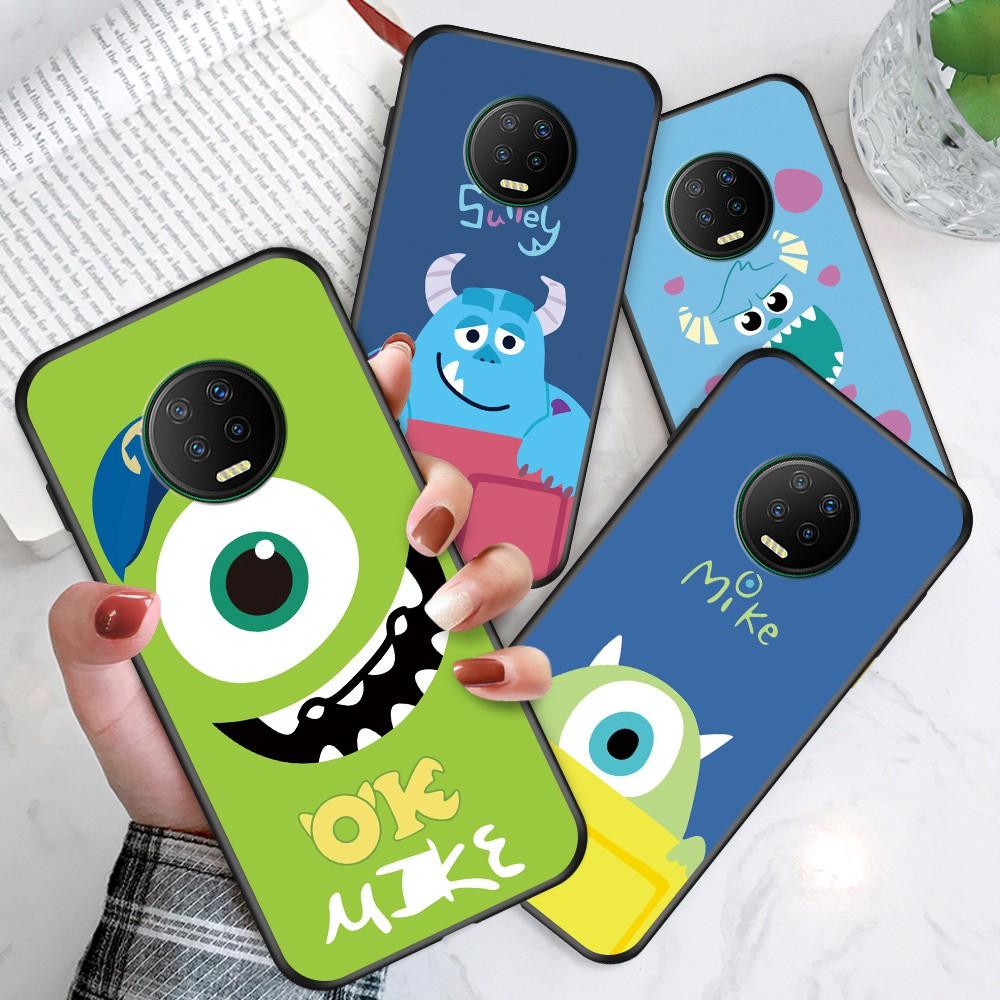 สำหรับ Infinix Hot 10 Smart 5 Tecno Spark 5 Pro Cartoon Monsters University Phone Case Big Eyed Lovely Soft Casing Colorful Silicone Cases Shockproof TPU Back Cover เคส เคสโทรศัพท์ เคสนิ่ม