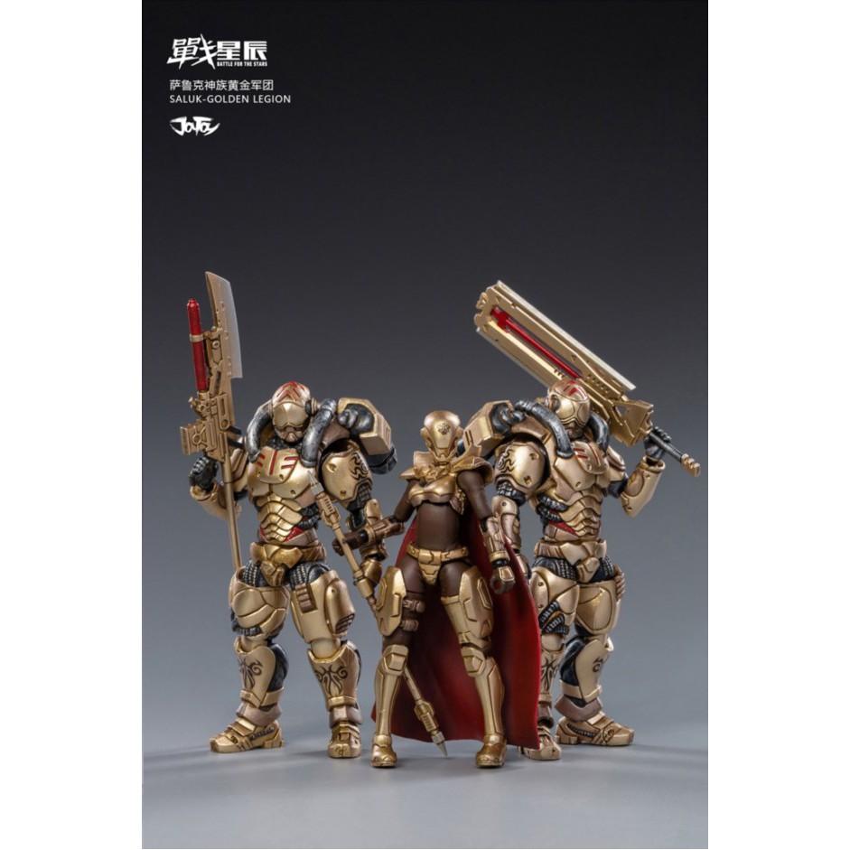 ღღ1/18 Figure - Joy Toy - SALUK-GOLDEN LEGION b3Gx