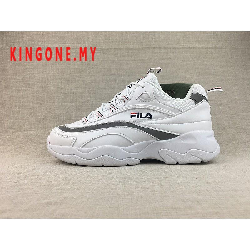 Original ฟิล่า Fila Ray รองเท้าผ้าใบรองเท้าวิ่ง 14