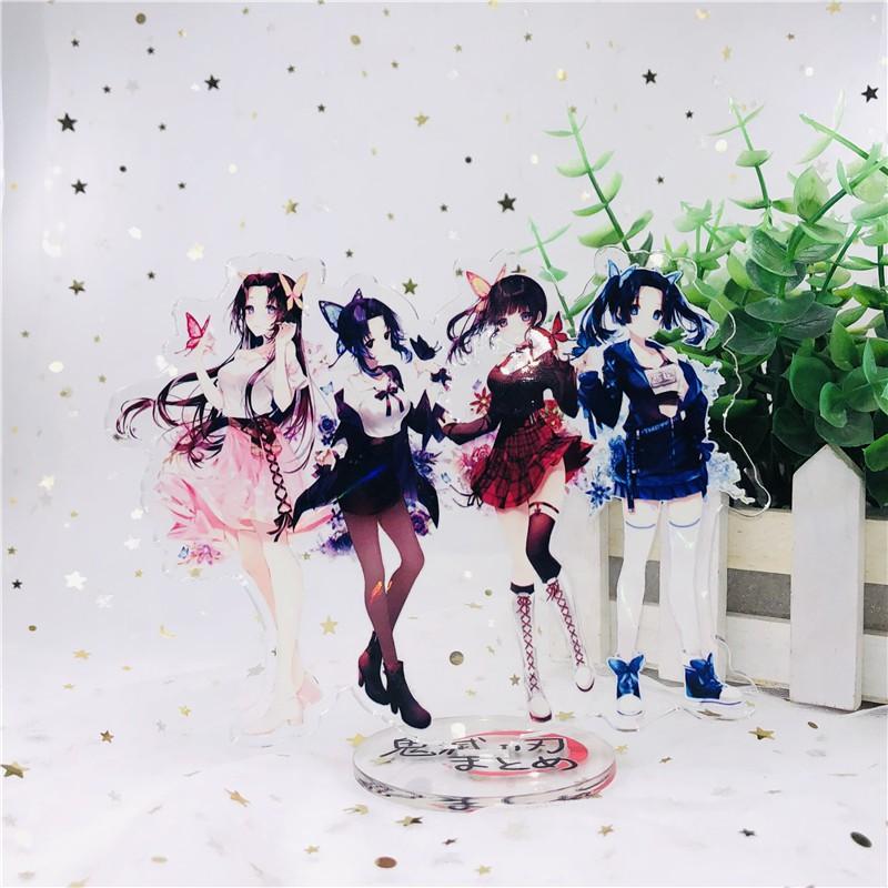 Demon Slayer Kimetsu no Yaiba Shinobu Nezuko Shinichi Acrylic Stand Figure Deskto Decoration Collection Model Toy Coslay