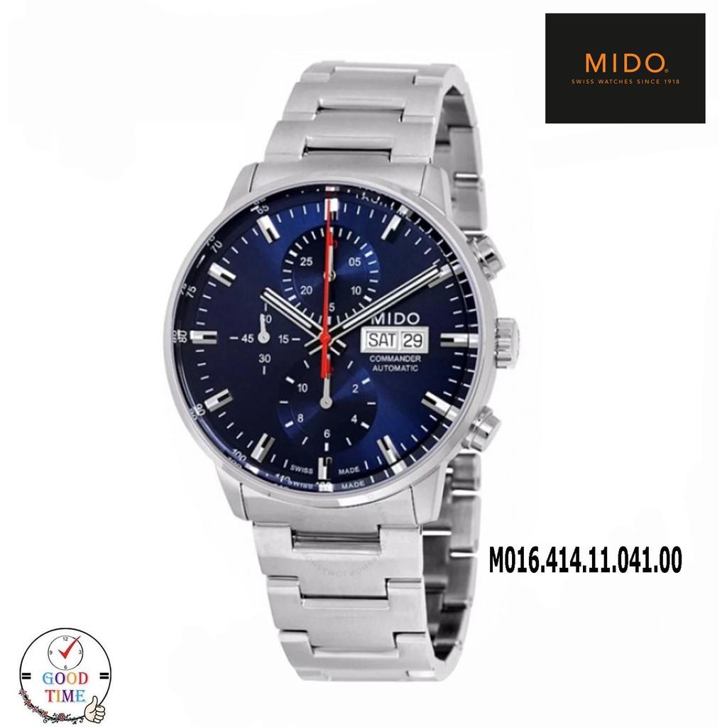 Mido Commander Automatic นาฬิกาข้อมือชาย รุ่น M016.414.11.041.00