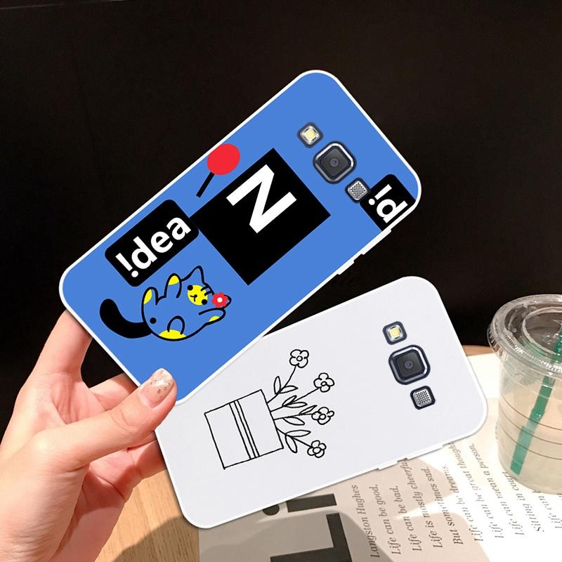 Case-Samsung A3 A5 A6 A7 A8 A9 Star Pro Plus E5 E7 2016 2017 2018 XDW Pattern-3 Soft Silicon TPU Case Cover