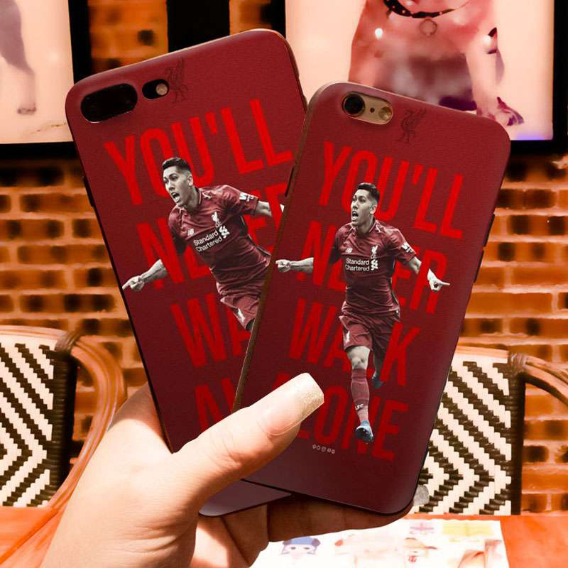 Liverpool Fc Iphone 6 6s 7 8 Plus 5s Xs Max Xr Glass Case