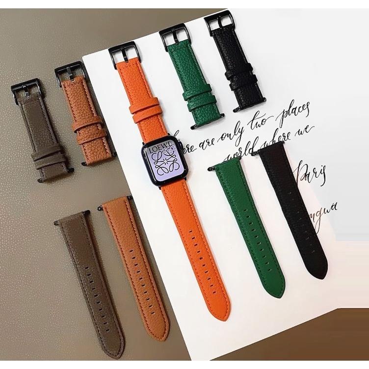 สาย Apple Watch Strap ลายลิ้นจี่ ขนสัตว์ สายนาฬิกา Applewatch Iwatch Watch band For Applewatch Series 6 5 4 3 2 1, size