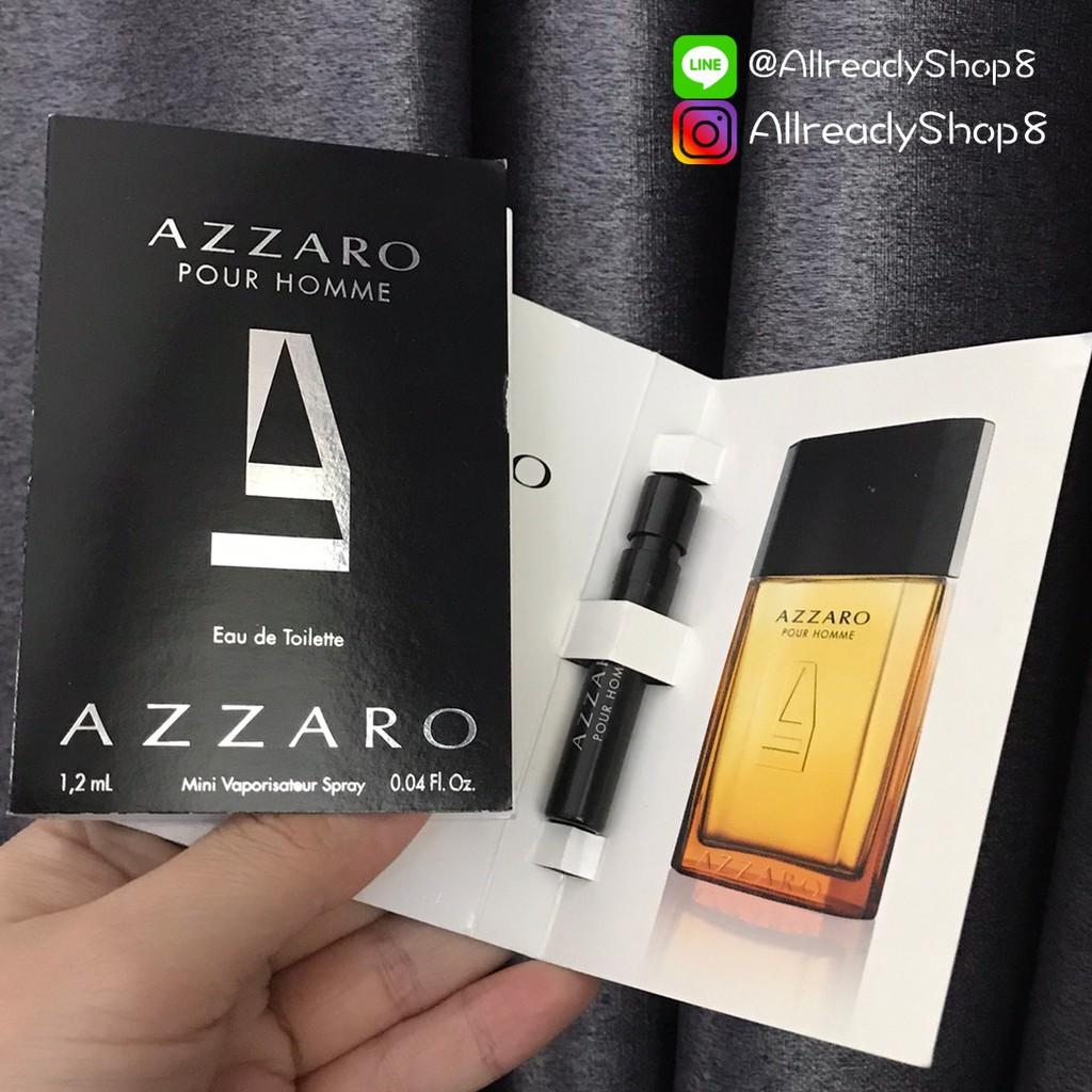Azzaro Pour Homme EDT 1.2 ml.  VIAL