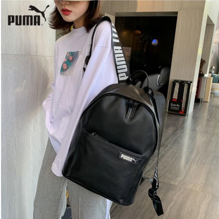 [ของแท้ 100%] กระเป๋าสะพาย PUMA กระเป๋าเป้สะพายหลังกระเป๋าเดินทางพักผ่อน