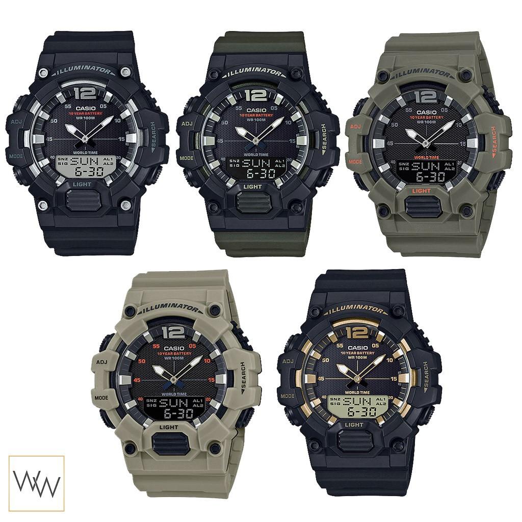 นาฬิกาข้อมือ นาฬิกาข้อมือแฟชั่น ของแท้  Casio รุ่น HDC-700 นาฬิกาข้อมือ(เลือกสีทักแชท)
