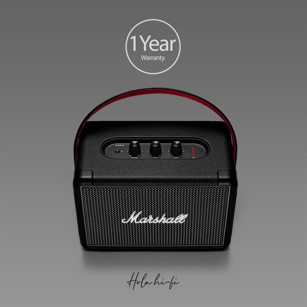 Marshall Kilburn II (Black) ลำโพง Bluetooth สินค้าของแท้ 100% รับประกัน 1ปี Holahifi พร้อมส่งเลย!