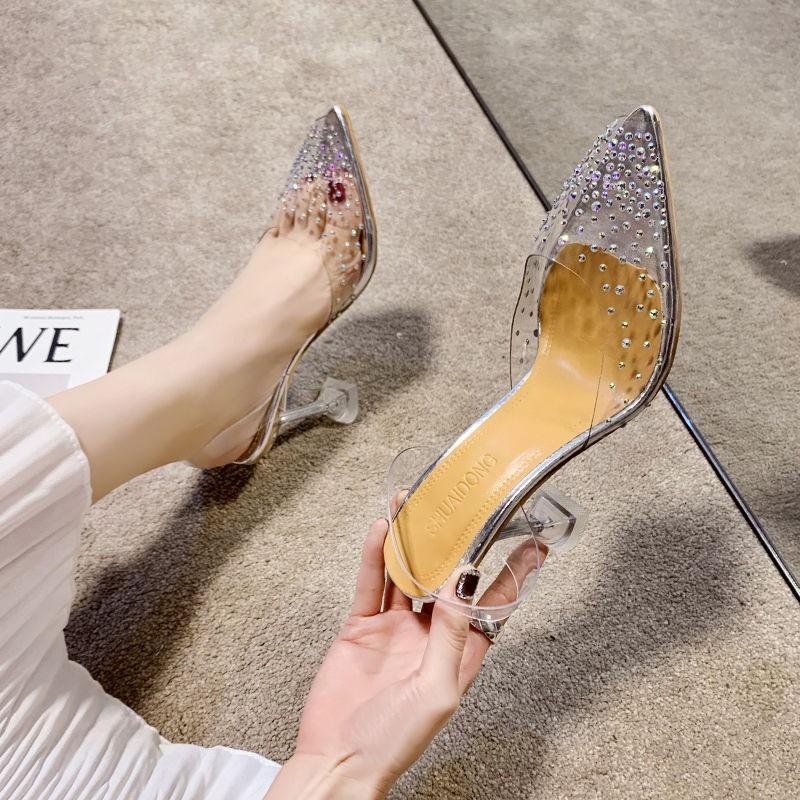 ⚡มีสินค้า  พร้อมส่ง รองเท้าส้นสูง รองเท้าคัชชู รองเท้าใส่ทำงาน รองเท้าแฟชั่น รองเท้าเปิดส้น รุ่น รองเท้าส้นสูงใส