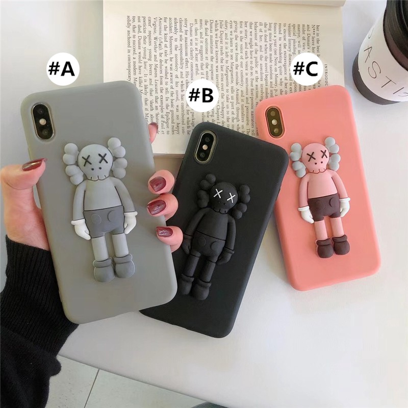 Apple Case iPhone 11 Pro Max Soft case iphone11 iphone11pro iphone11promax Xs X XR 7 8 6 6s Plus case covers Kaws