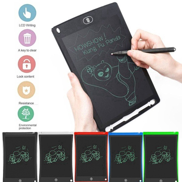 8.5 inch LCD Writing Tablet Drawing Board Electronic Notepad Writing Pad for Kid