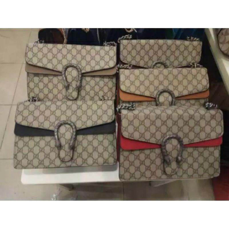 Gucci Dionysus กระเป๋าสะพายแฟชั่น 3093