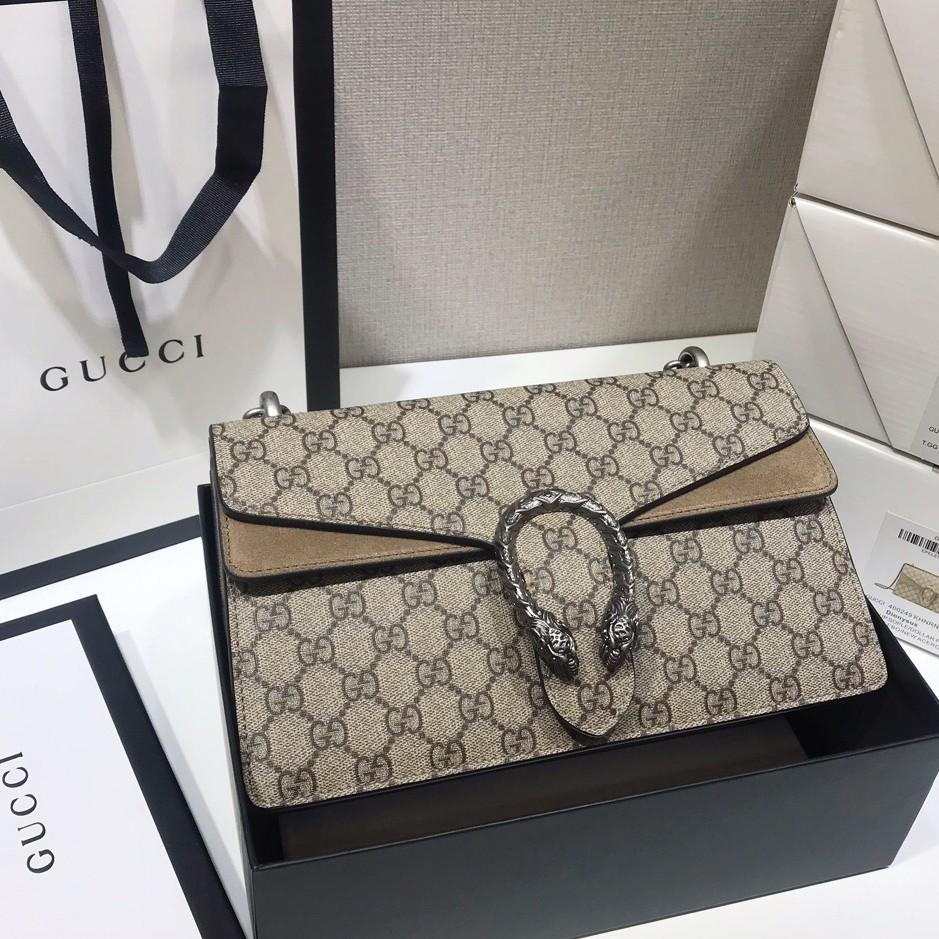 100% ยุโรปแท้ Gucci Dionysus คลาสสิก Dionysian กระเป๋ากระเป๋าสะพายที่มีสามขนาด: ขนาดใหญ่ / กลาง / เล็กที่นิยมมาก
