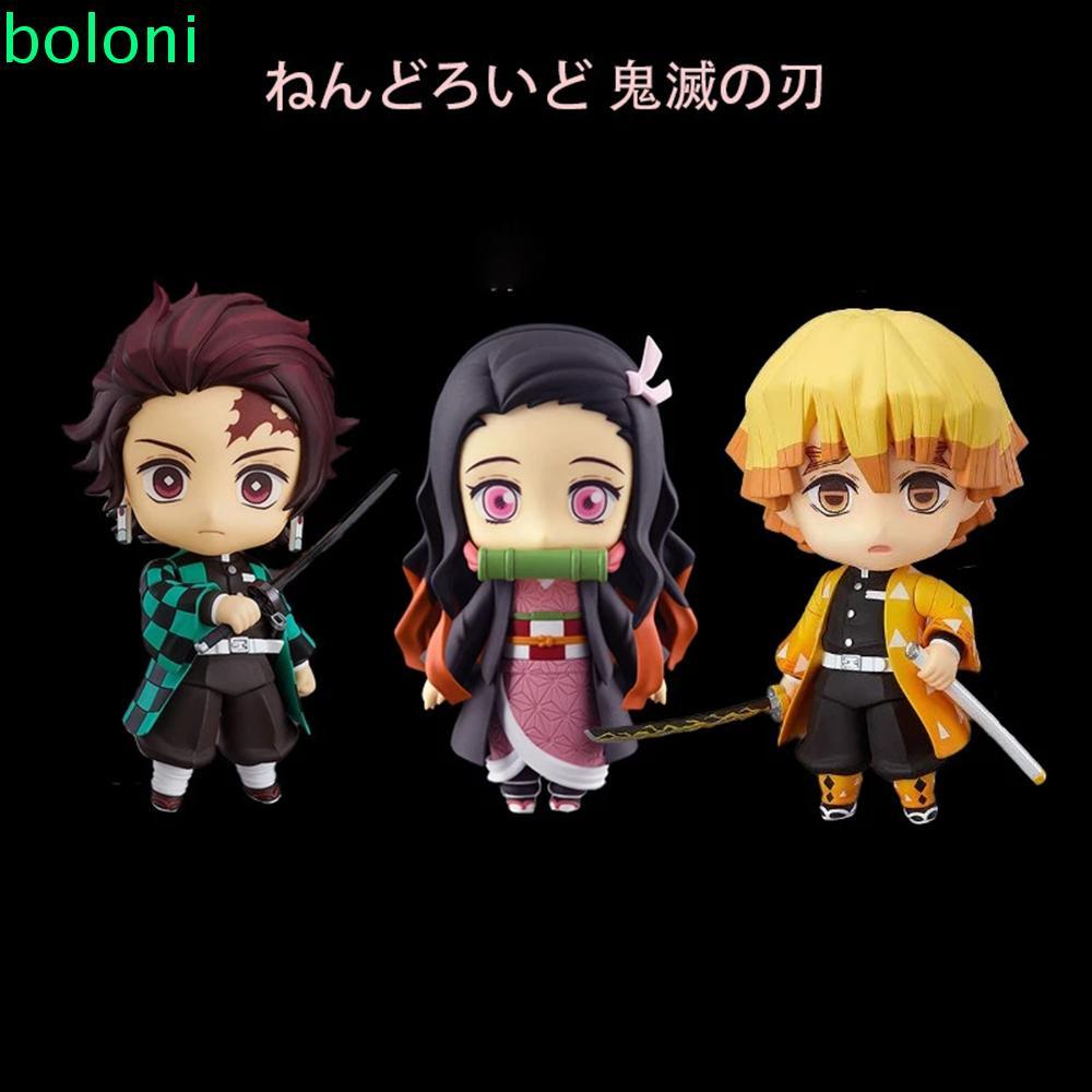 [COD] Collection Doll Anime Demon Slayer Demon Blade Figurine Model Action Figure Toys Shinobu Miniatures Kimetsu no Yai