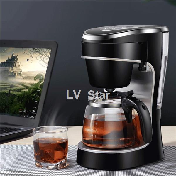ส่งจากกรุงเทพ▧▤เครื่องชงกาแฟ เครื่องชงกาแฟเอสเพรสโซ เครื่องทำกาแฟขนาดเล็ก เครื่องทำกาแฟกึ่งอัตโนมติ Coffee maker เครื่อ