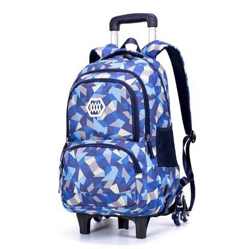 กระเป๋าเดินทางล้อลาก Luggage  6 ล้อ V.1   (สีน้ำเงิน) กระเป๋าล้อลาก กระเป๋าเดินทางล้อลาก