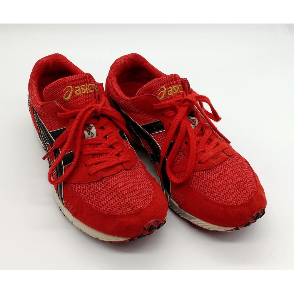 Asics Tarther Japan เอสิค ทาร์เตอร์ เจแปน สีแดง สภาพ 90% ไซส์ 23.5cm 4US 36Eur