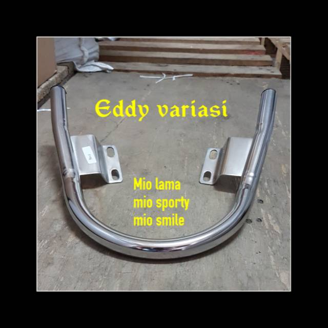 Mio Chrome Pipe Stirrup - Mio Chrome Back Stirrup Old Mio Sporty ท่อโครเมี่ยมสําหรับรถยนต์