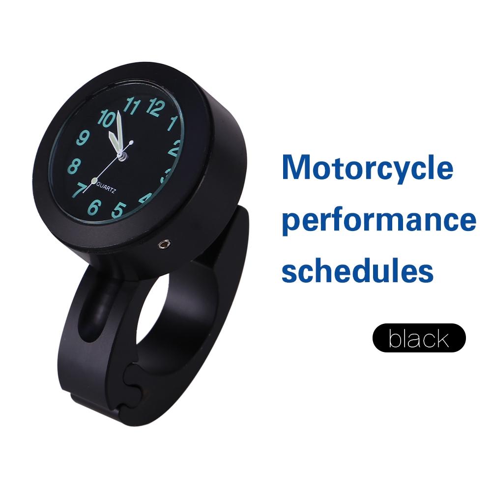 Universal Motorcycle Motor Bike Handlebar Mount Clock Waterproof