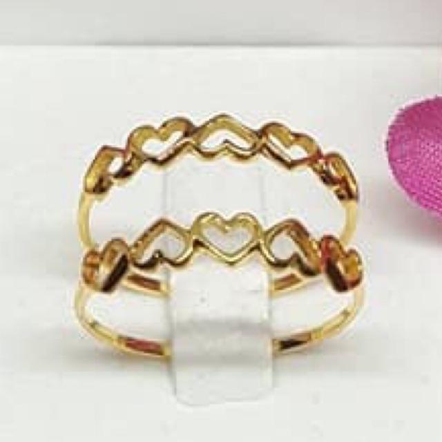แหวนหัวใจสวยๆทองคำแท้ราคาโรงงาน