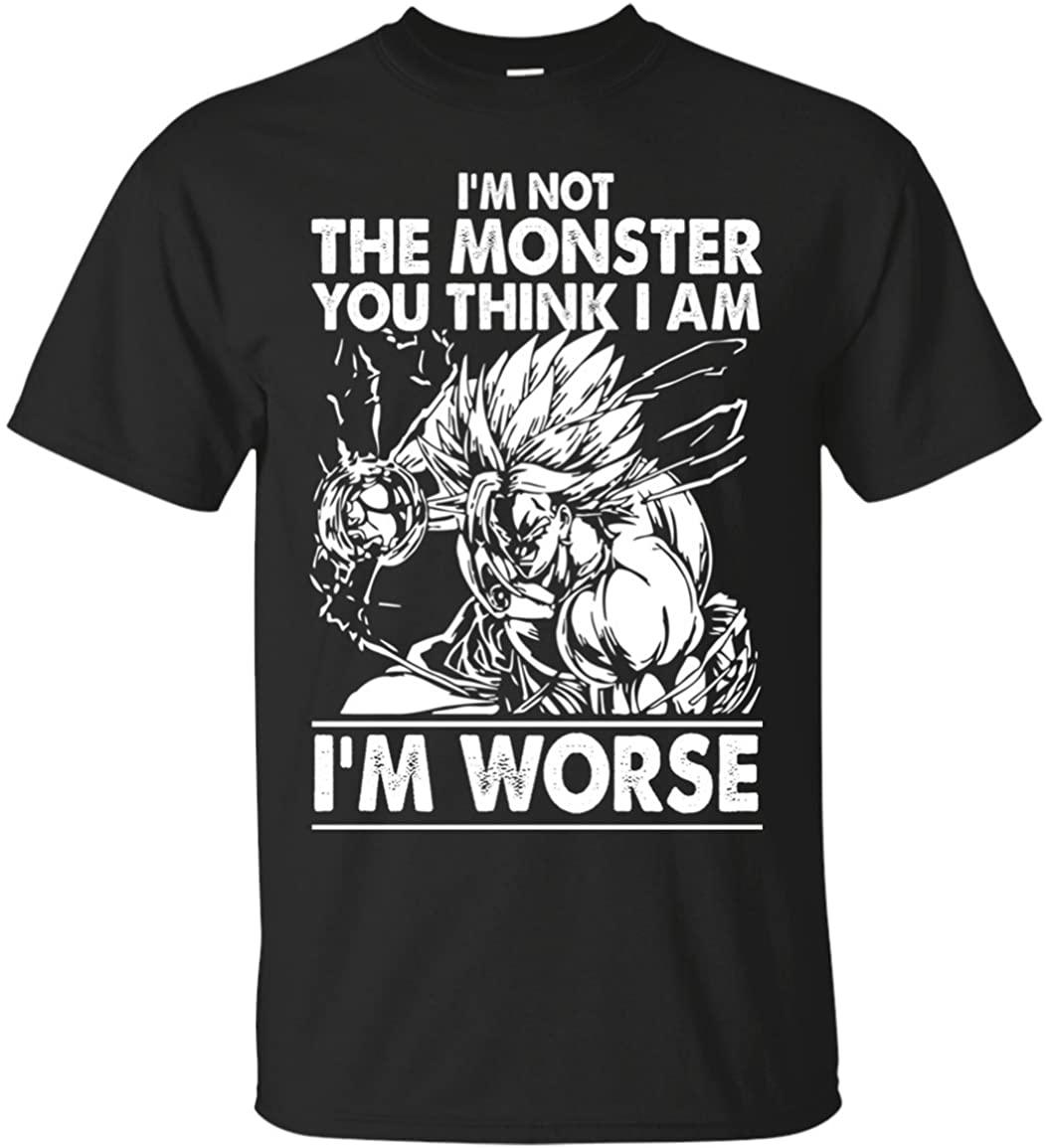 เสื้อยืดแขนสั้นพิมพ์ลาย Dragonball Z Goku And Vegeta สําหรับผู้ชาย