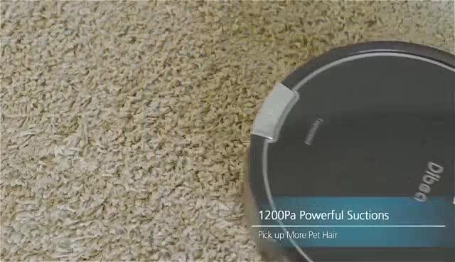 Dibea D960 หุ่นยนต์ดูดฝุ่น Smart Robot Vacuum Cleaner with Wet Mopping Function ฟังก์ชั่นดูดฝุ่นและถ