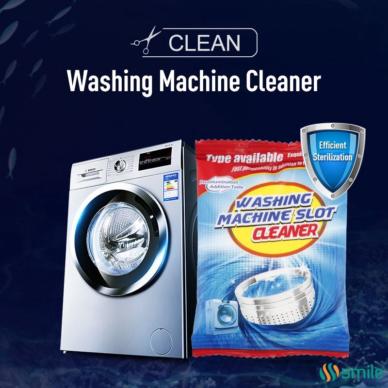 Powder Washer Cleaner Effective Washing Machine Cleaner Laundry Tank Cleaner BL