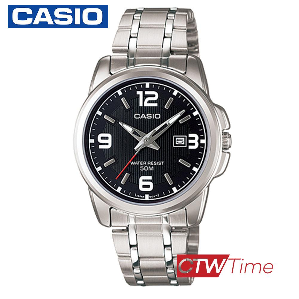 (จุดด่างพร้อย)ส่งฟรี !! Casio Standard นาฬิกาข้อมือผู้หญิง สายสแตนเลส รุ่น LTP-1314D