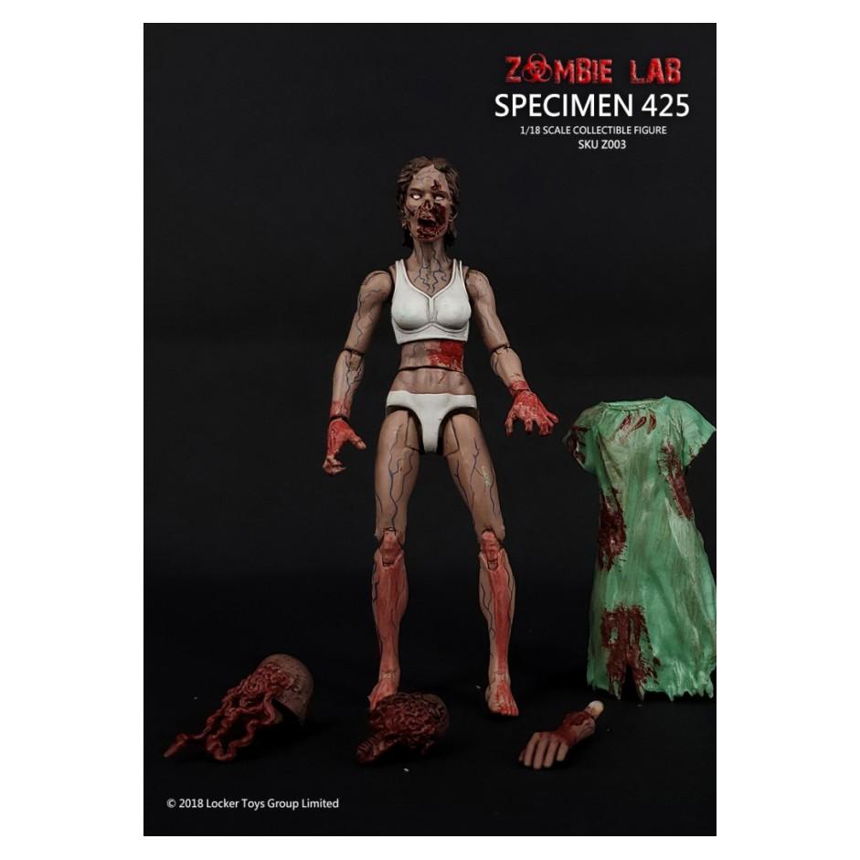 №❶1/18 Figure - Zombie Lab - Specimen 425 Uge7