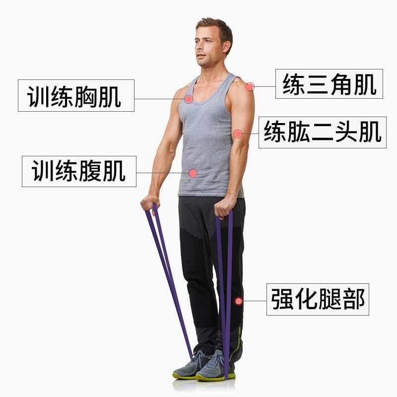 (พร้อมส่ง) เข็มขัดกีฬา อุปกรณ์ออกกำลังกาย ₪♦สายยางยืดชาย แถบยางยืด การฝึกความแข็งแรง แถบความต้านทานหญิง ฟิตเนส โยคะ ยืด