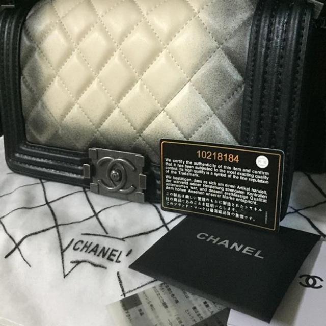 Chanel boy hiend