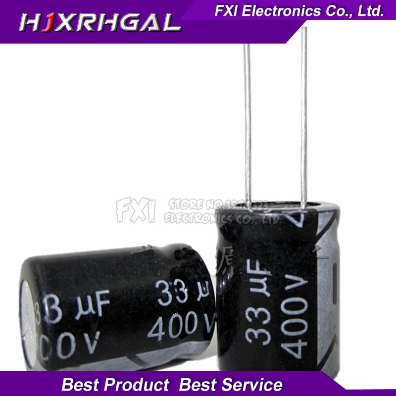 10PCS 400v33uf 400v 16*21 400v 33uf 16x21 Electrolytic c Electrolytic capacitor