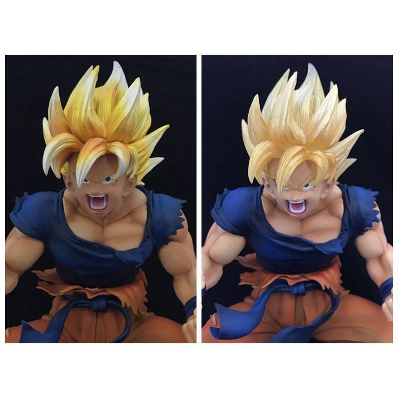 ซูเปอร์ DragonBall เช่นศิลปะ VER Dragon Ball เปลี่ยน Super Saiyan มือ Wukong อาทิตย์