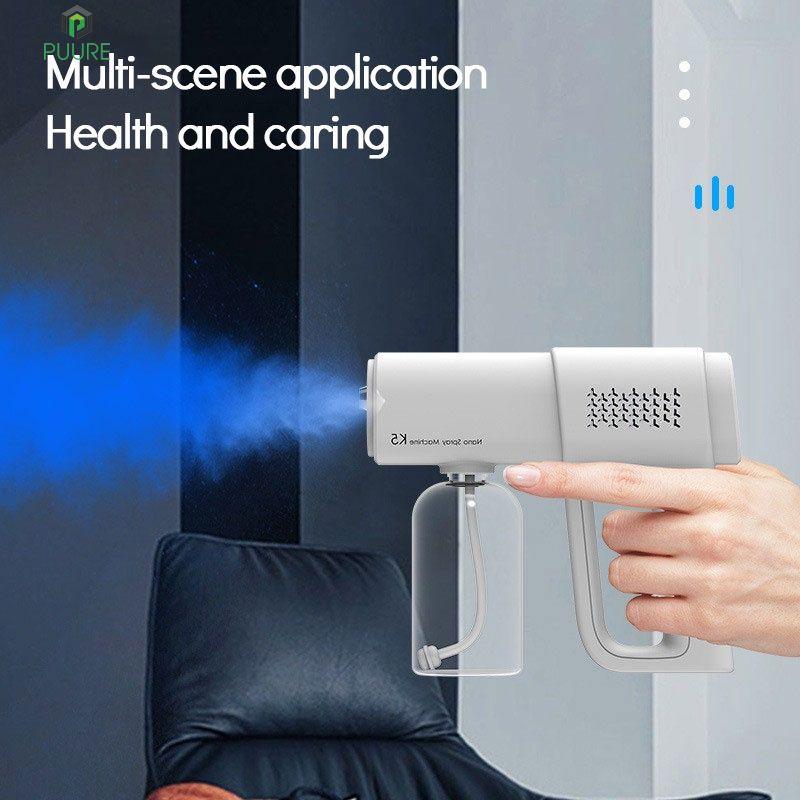【FAST】 K5 nano spray gun blue light disinfection sprayer rechargeable atomization disinfection gun