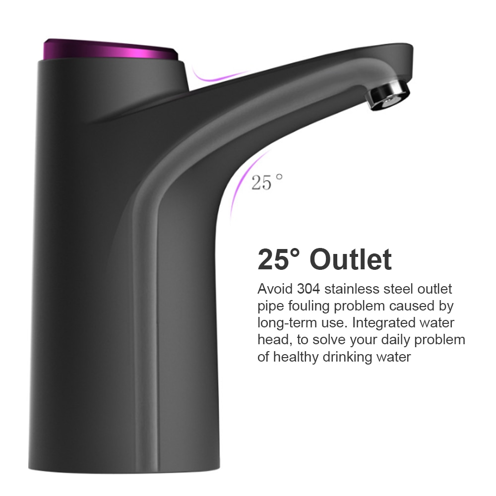 2020 Household Automatic Water Dispenser Bottled Water Manual Water Press Intelligent Portable Water Dispenser