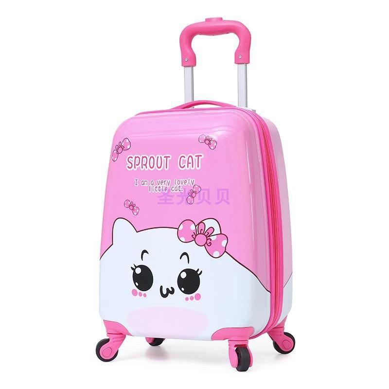 กระเป๋าเดินทางมีล้อเลื่อนขนาด 18 นิ้ว