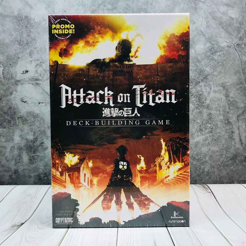 (ของแท้) Attack on Titan Deck Building Game Board Game บอร์ดเกม