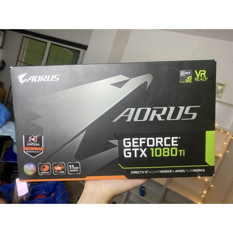 GTX 1080 ti aorus มือสอง