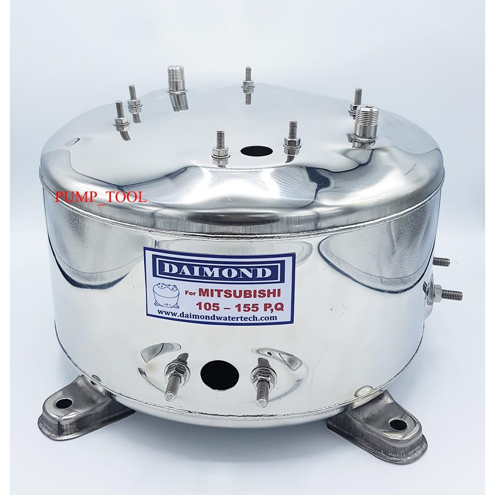 Mitsubishi ถังปั๊มน้ำสแตนเลส (อย่างหนา) WP85-155P,Q,Q2,Q3,QS,Q5