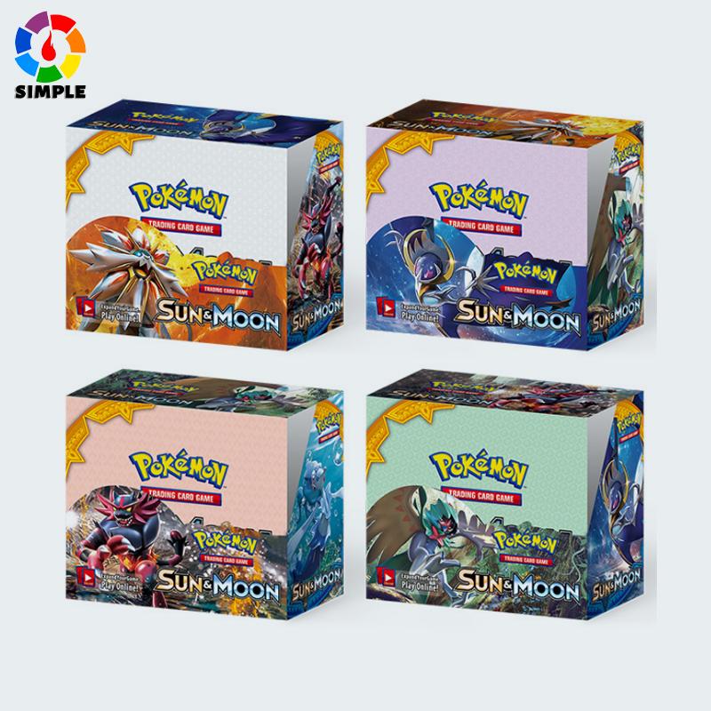 กล่องเกมการ์ด Pokemon Tcg : Sun & Moon Bonds Booster 324 ชิ้น
